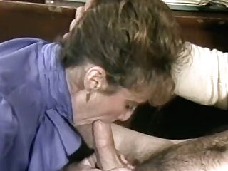 Fair Haired Old Assistant Introduces Solid Bj To Her Exotic Manager