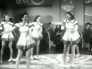 Sexy Hot Retro Honeys Dance Viontage Ballet