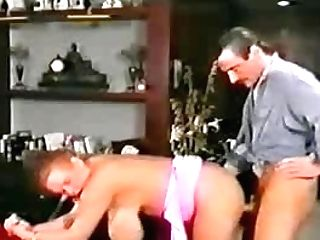 Huge-chested Assistant Fucks Her Manager